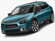 Citroen C4 Cactus 2018 3d model