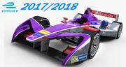 Formula E DS Virgin Racing 2018 3d model