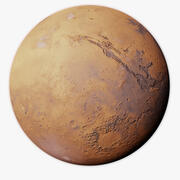 Mars Fotorealistische 32K 3d model