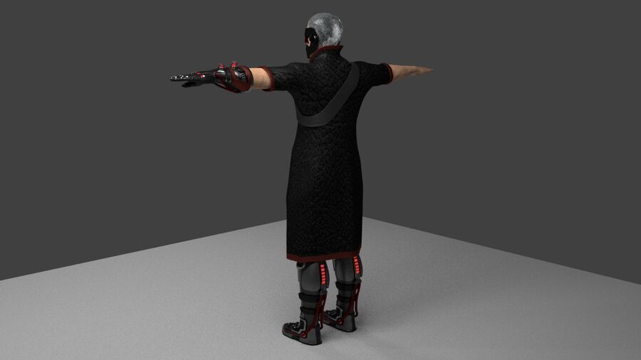 Lord Murder royalty-free 3d model - Preview no. 3