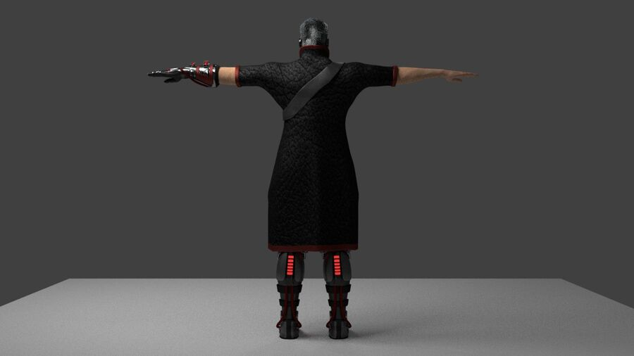 Lord Murder royalty-free 3d model - Preview no. 4