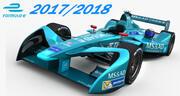 Formula E MS & AD Andretti 2018 3d model