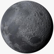 Луна Фотореалистичная 32K 3d model