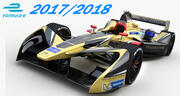 Formula E  Techeetah Team 3d model