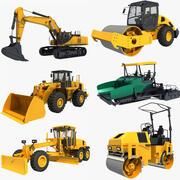 コレクション建設車両03 3d model