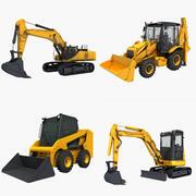 コレクション建設車両02 3d model