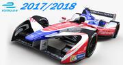 Formula E  Mahindra 201 3d model