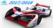 Venturi Formula E Team 2018 3d model
