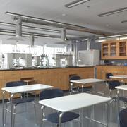 Интерьер школьной лаборатории 3d model
