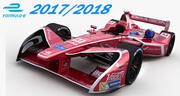Dragon Racing Formula E Team 3d model
