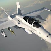 McDonnell Douglas FA-18 Hornet 3d model