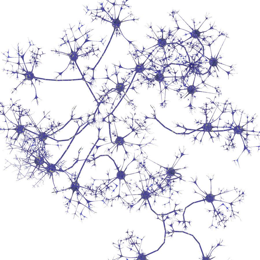 Neuraal netwerk royalty-free 3d model - Preview no. 6