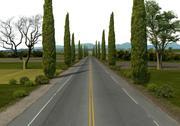 Дорога 3d model