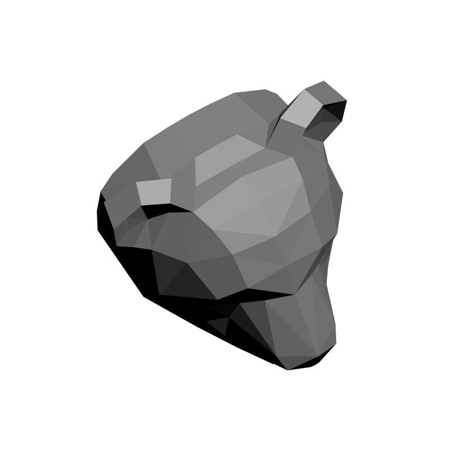 modelo de panda de baja poli royalty-free modelo 3d - Preview no. 6