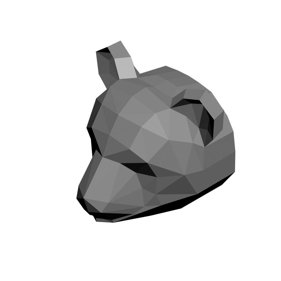 modelo de panda de baja poli royalty-free modelo 3d - Preview no. 4