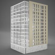Hotel de torre moden modelo 3d