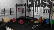 Caixa Crossfit 3d model