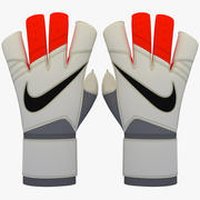 Nike Grip3 Keeper Glove 3D Model 3d model