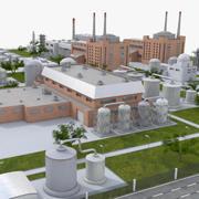 산업 공장 3d model