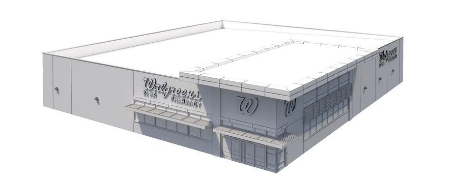 Retail-018 Walgreens Building 3D Model $49 -  unknown  max