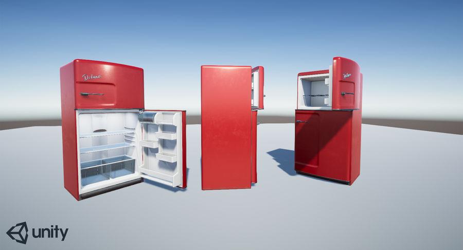 Retro Kühlschrank Real : Retro kühlschrank d modell unitypackage obj fbx dae