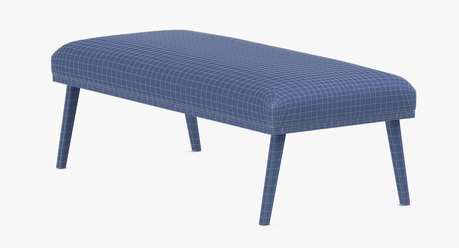 Contemporary Bench royalty-free 3d model - Preview no. 10