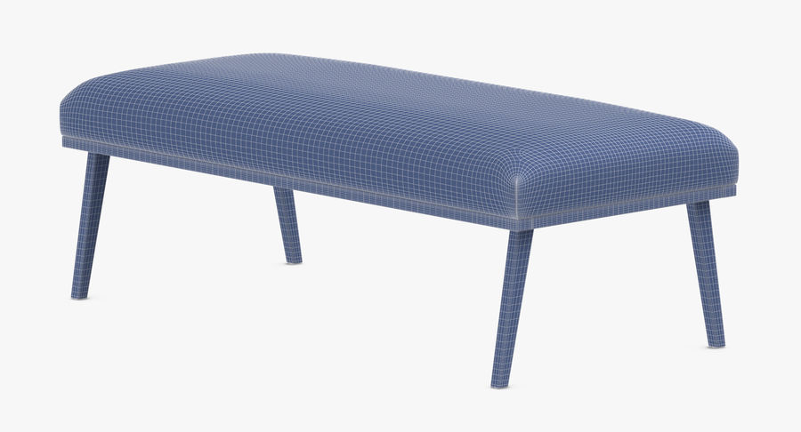 Contemporary Bench royalty-free 3d model - Preview no. 13