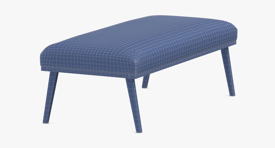 Contemporary Bench royalty-free 3d model - Preview no. 15