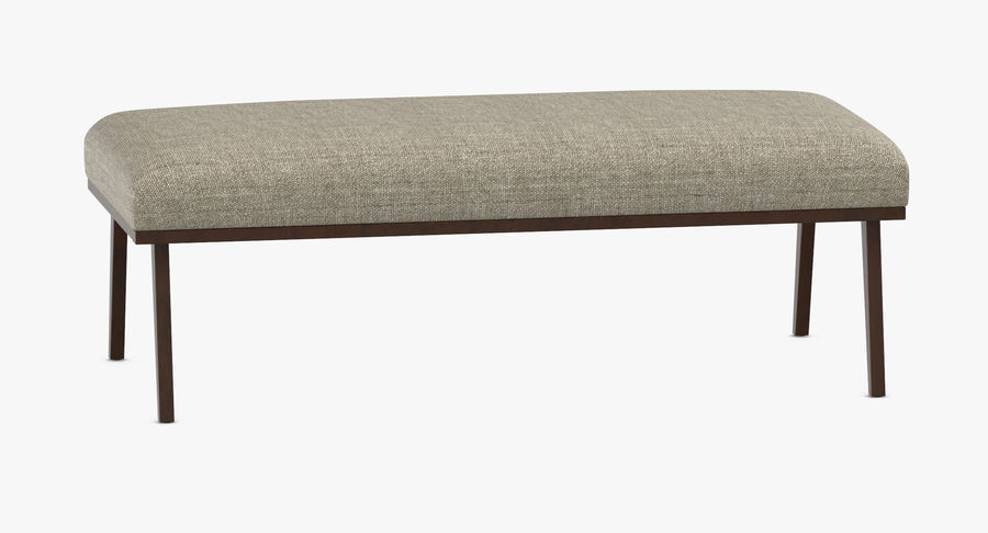 Contemporary Bench royalty-free 3d model - Preview no. 5