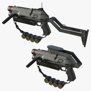 Granade Launcher (1) 3d model
