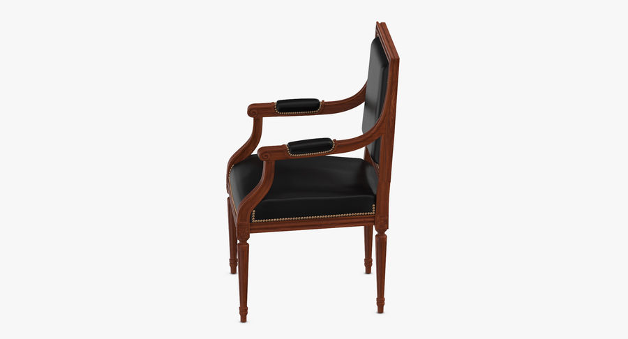 Classical Office Chair royalty-free 3d model - Preview no. 5