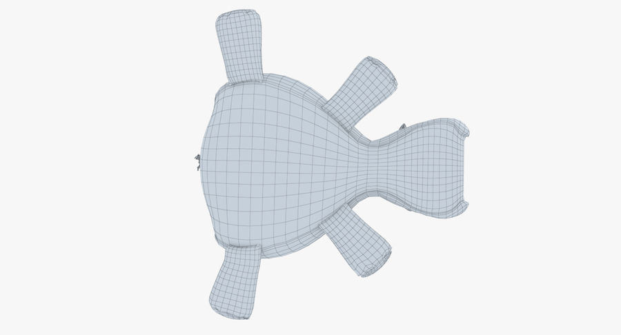 Hippo-Spielzeug royalty-free 3d model - Preview no. 23