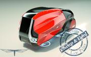 \\ T // Hover Minivan 18 3d model