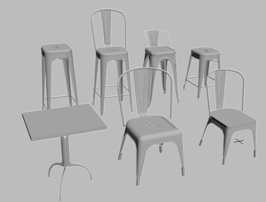 Furniture 3d49 Collectiontabouret Tolix TableModèle Chaise R43Aqj5L