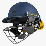 Cricket Helmet Masuri 02 3d model