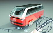 \\ T // Hover Minivan 19 3d model
