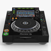 Tabletop DJ Player Pioneer CDJ 2000NXS2 3d model