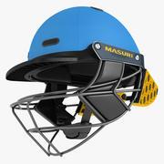 Cricket Helmet Masuri 03 3d model
