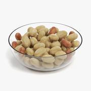 Peanuts in Bowl 3d model