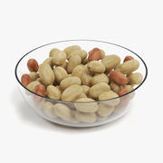 Peanuts in Bowl 3d model