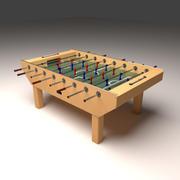 Foosball Table 3d model