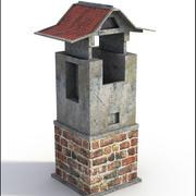 Brick Chimney V3 3d model
