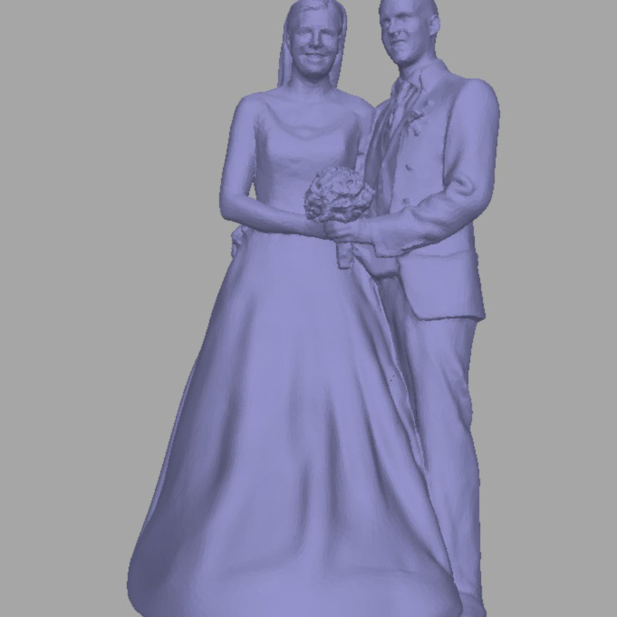 Couple 192, scan royalty-free 3d model - Preview no. 1