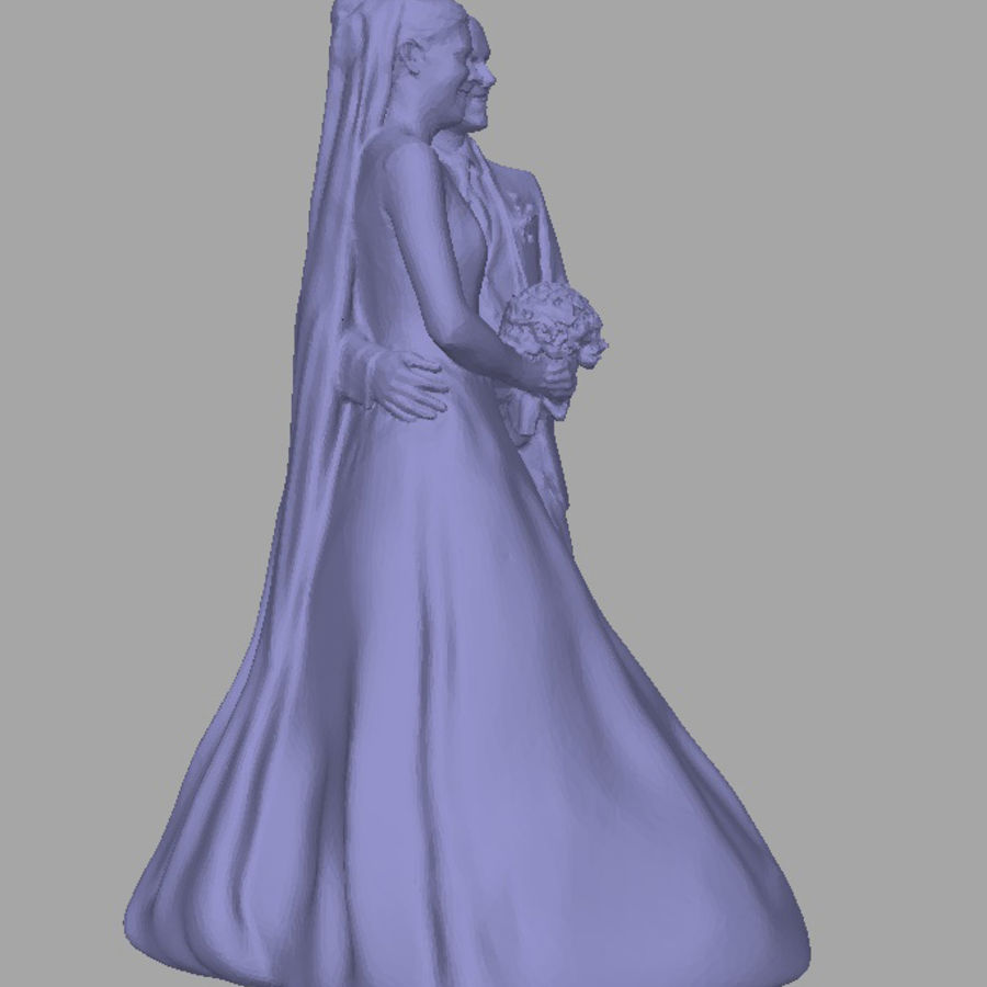 Couple 192, scan royalty-free 3d model - Preview no. 4