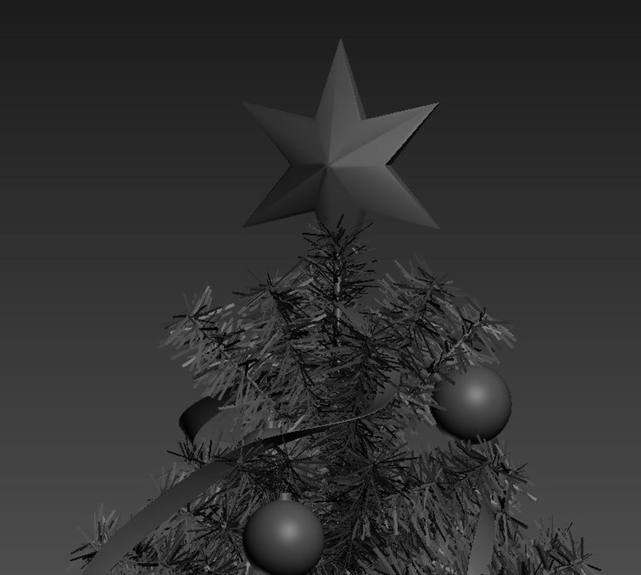 Weihnachtsbaum royalty-free 3d model - Preview no. 5