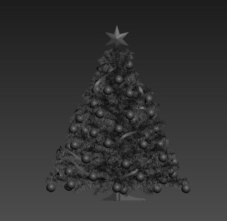 Weihnachtsbaum royalty-free 3d model - Preview no. 12