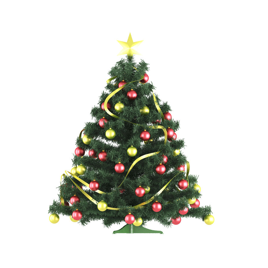Weihnachtsbaum royalty-free 3d model - Preview no. 1