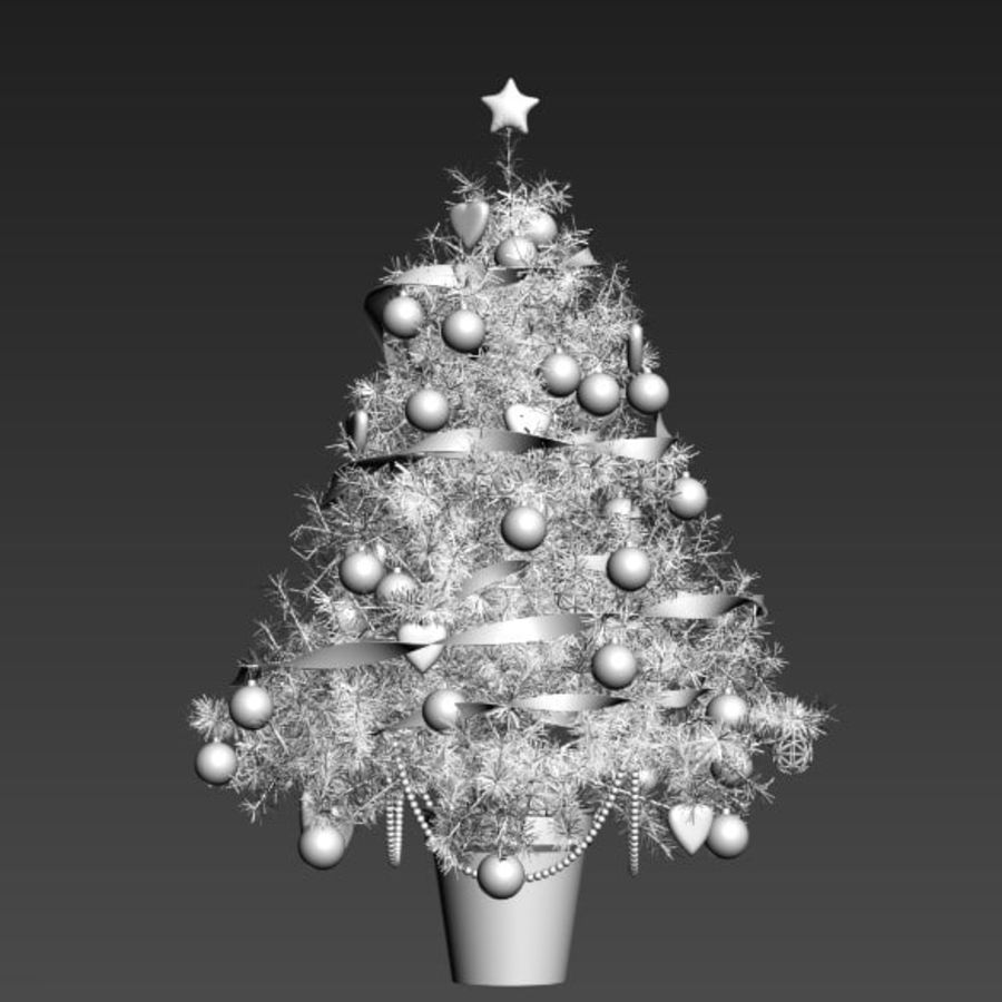Árvore de Natal royalty-free 3d model - Preview no. 4