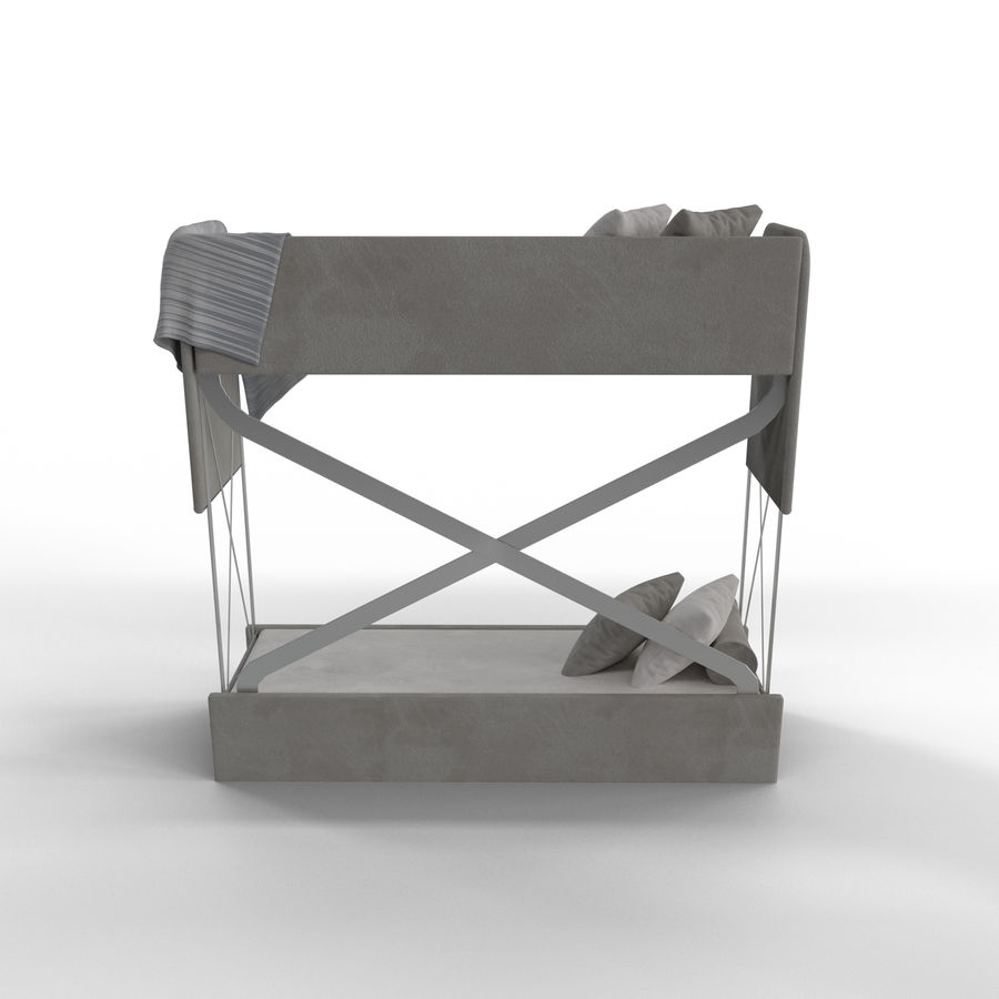 Bunk Couch Bunk Bed Couch 3d Model 6 Stl Fbx Dae Blend Obj Free3d