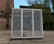 Abandoned window 7 3d model
